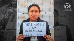 Jeane's mom, the tax evader. Photo from www.rappler.com
